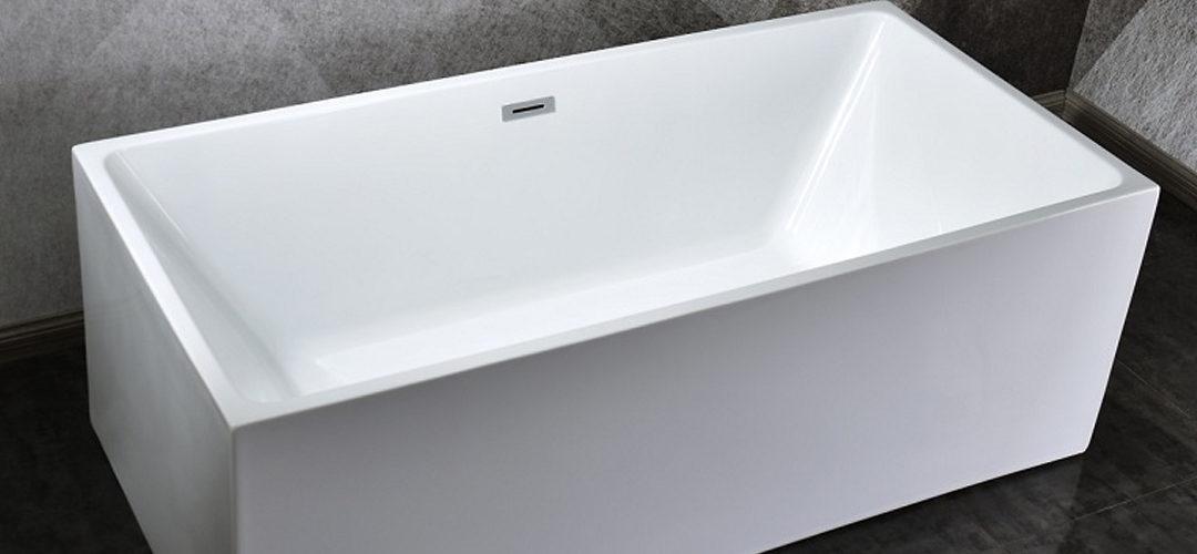 La baignoire îlot rectangulaire pour un confort quotidien
