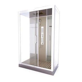 Cabine de douche hydromassante Natural XXL