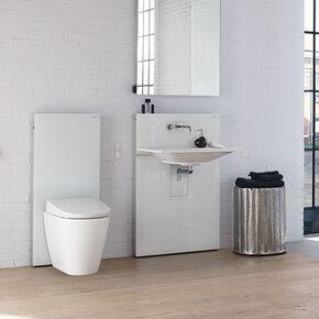 Pack WC à poser Monolith Geberit Urbano sans bride