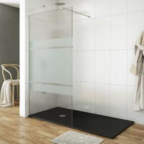 paroi de douche l 39 italienne stickers type mod le fixe et tancheit. Black Bedroom Furniture Sets. Home Design Ideas