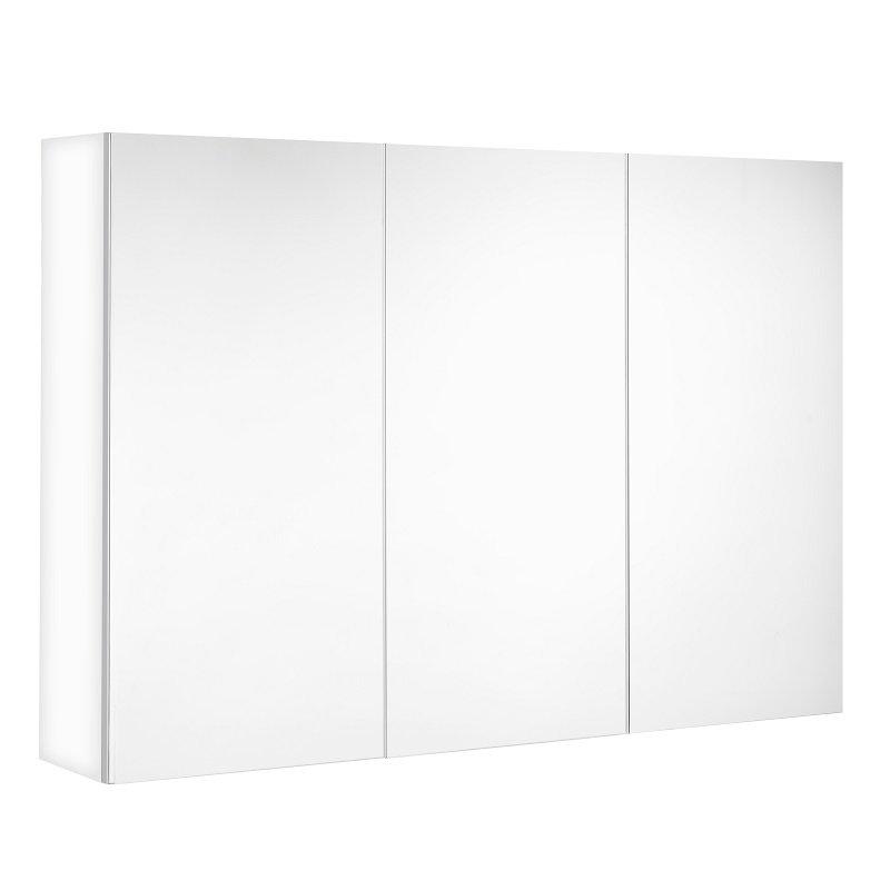 Armoire De Toilette Miroir Triptyque 120 Cm 3 Portes Pas Chère