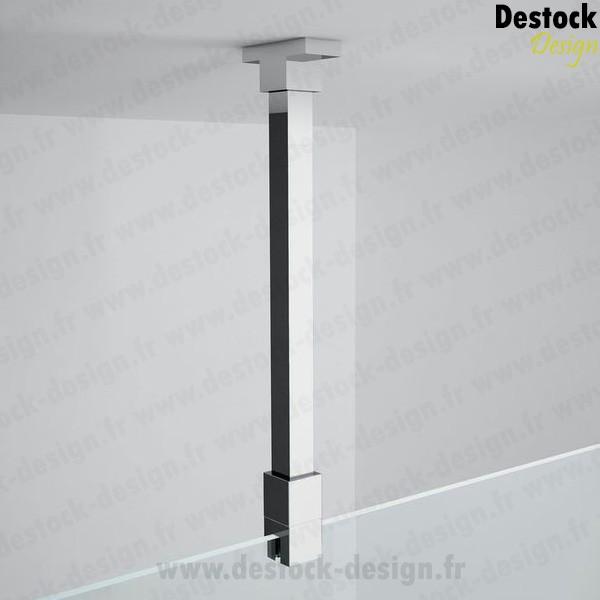 Achat d 39 une barre de renfort plafond d coupable 100 cm pour douche - Barre de maintien paroi de douche ...