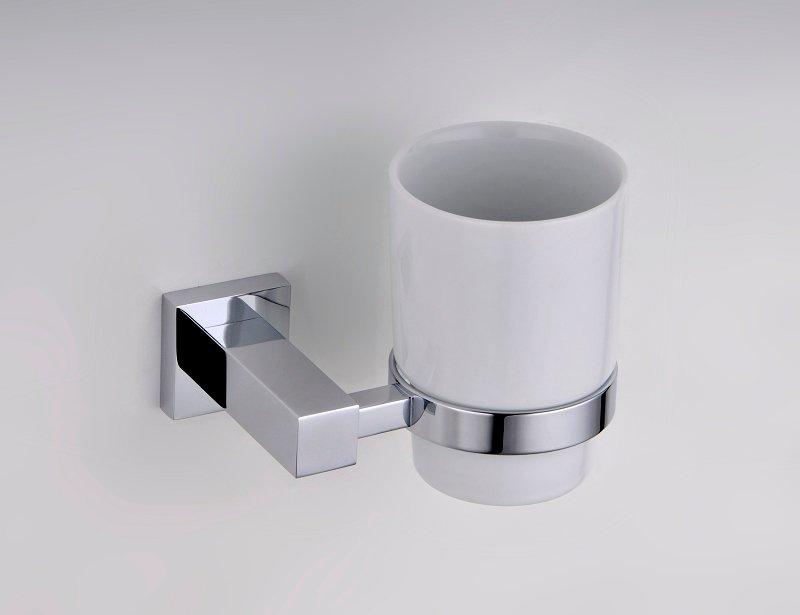 verre porte brosse a dent et dentifrice fixer au mur salle de bain. Black Bedroom Furniture Sets. Home Design Ideas
