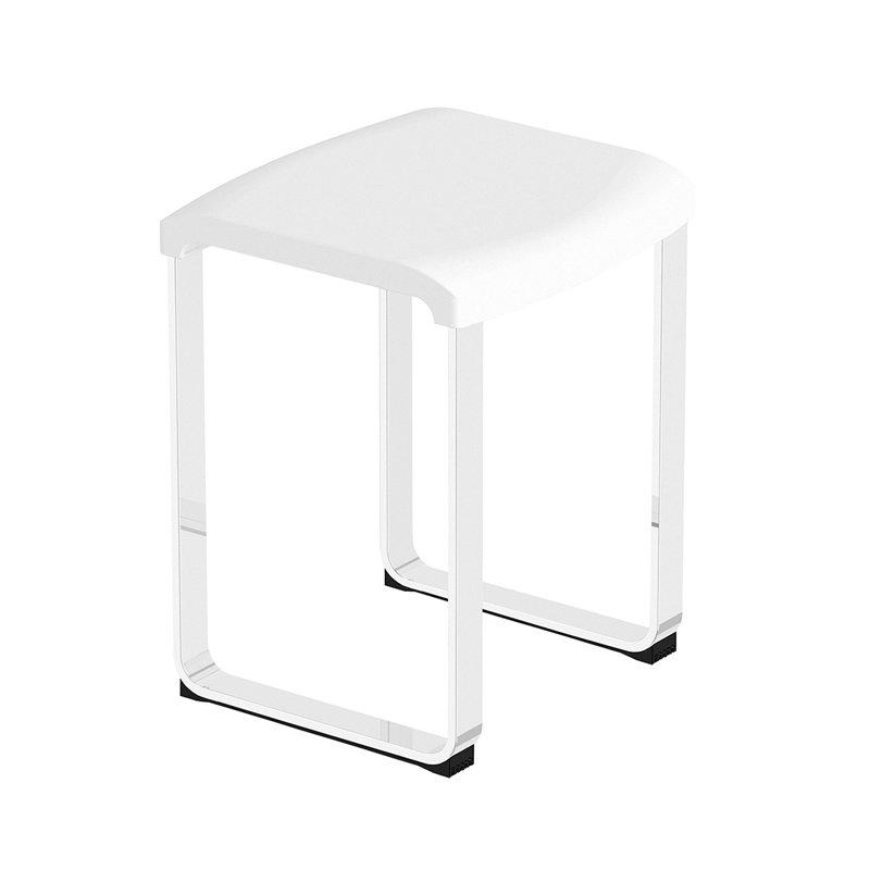 si ge de douche sur pieds pour salle de bain. Black Bedroom Furniture Sets. Home Design Ideas