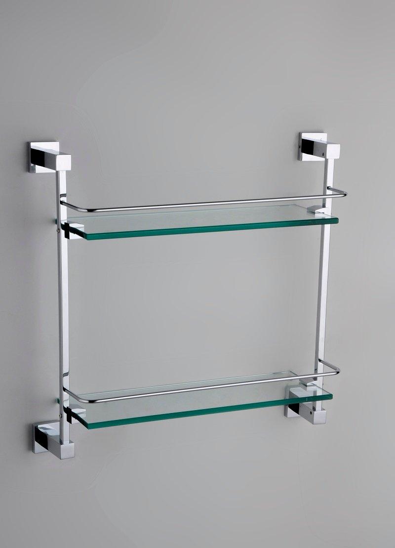 etag re double de douche en verre pour salle de bain en laiton massif. Black Bedroom Furniture Sets. Home Design Ideas