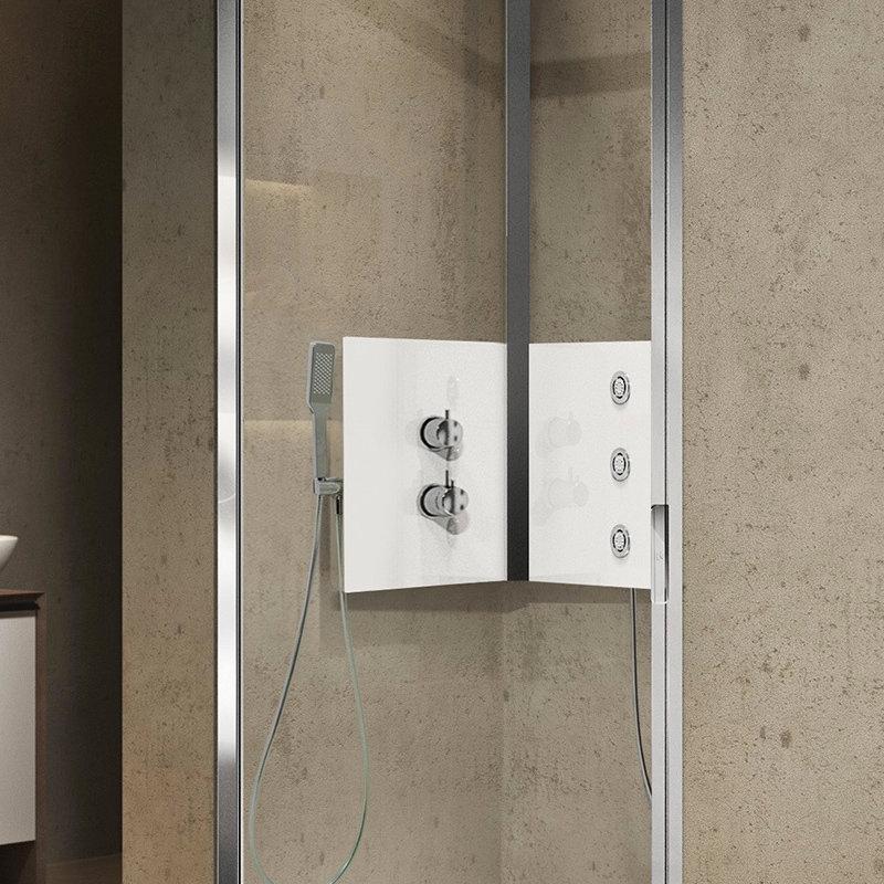 Porte de douche sur mesure for Porte de douche sur mesure castorama