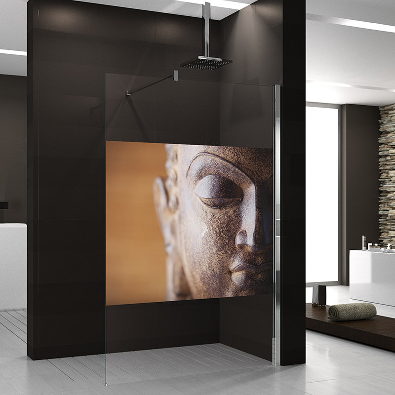 paroi mod le bouddha pour douche fixe pour salle de bain. Black Bedroom Furniture Sets. Home Design Ideas