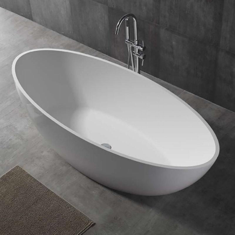 Baignoire r sine sobin de forme ovale pour salle de bain - Resine pour baignoire ...