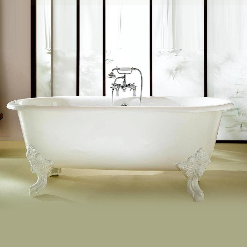 baignoire circ ilot en fonte jacob delafon. Black Bedroom Furniture Sets. Home Design Ideas