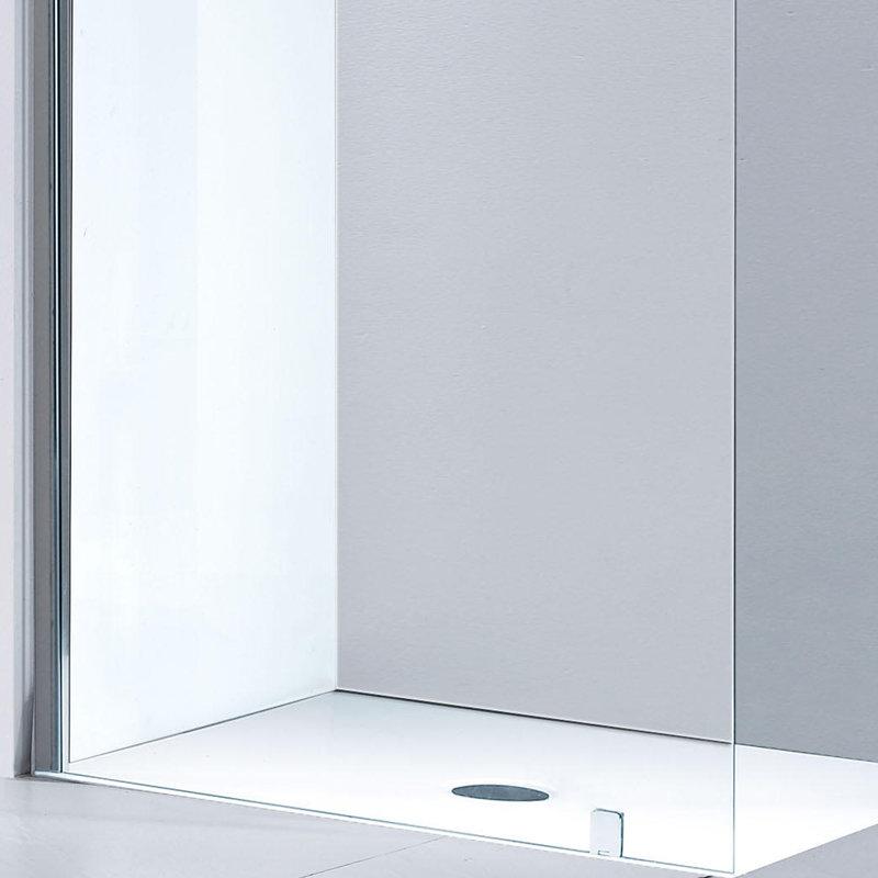Paroi de douche 110 cm adaptable sur douche italienne et for Solde paroi de douche
