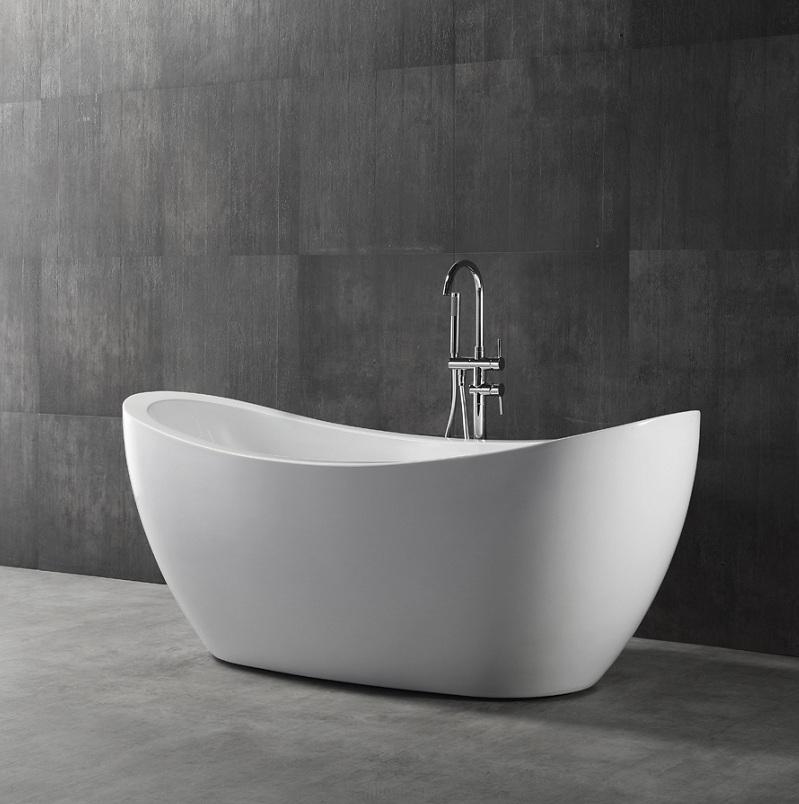 baignoire en lot poser navalo en acrulique renforc. Black Bedroom Furniture Sets. Home Design Ideas