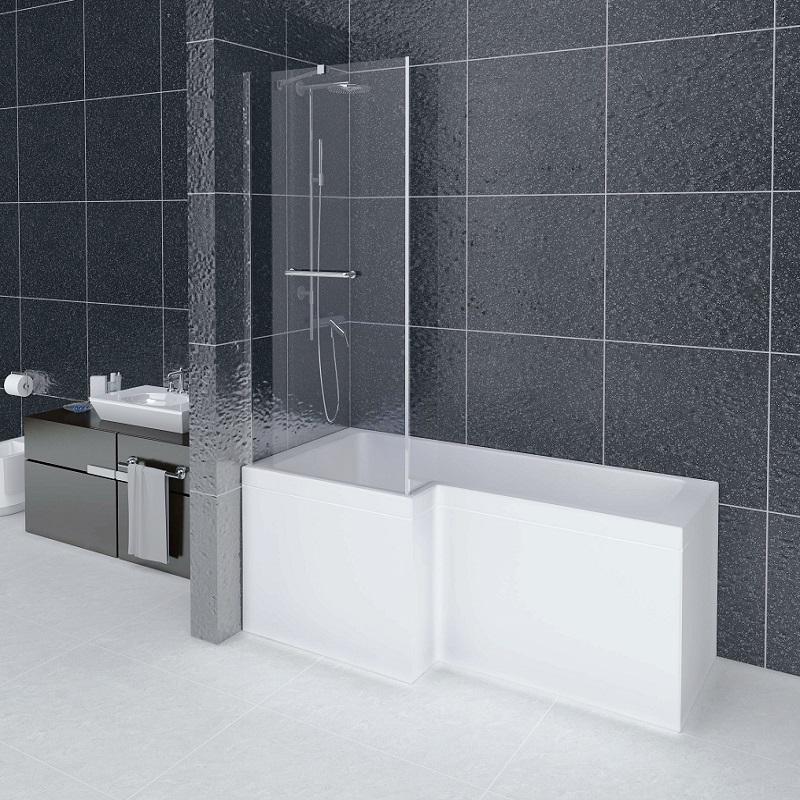 Baignoire comduo avec douche int gr e - Baignoire douche design ...