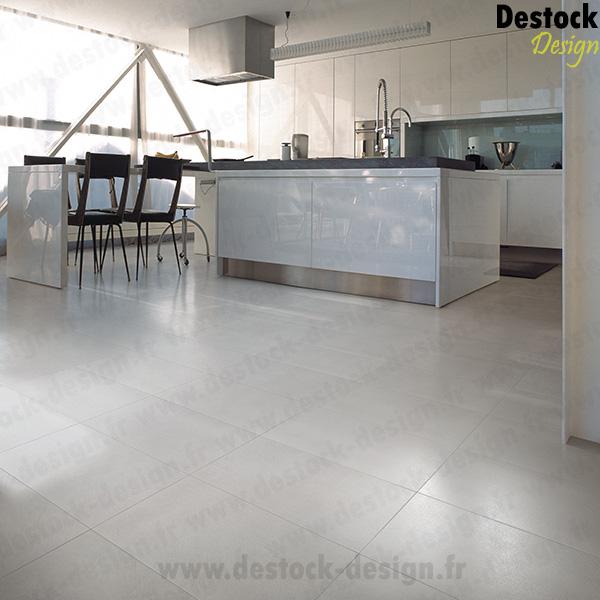 Carrelage aspect b ton blanc padana loft bianco 30 x 60 cm for Carrelage loft