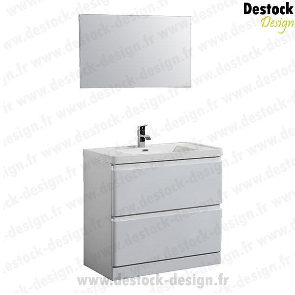 Meuble salle de bain blanc pas cher fort de france 13 - Meuble salle de bain blanc pas cher ...