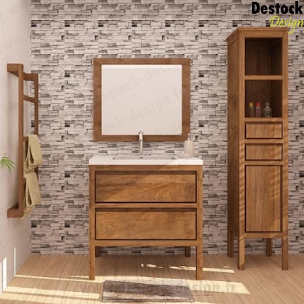 achat meuble salle de bain vintage