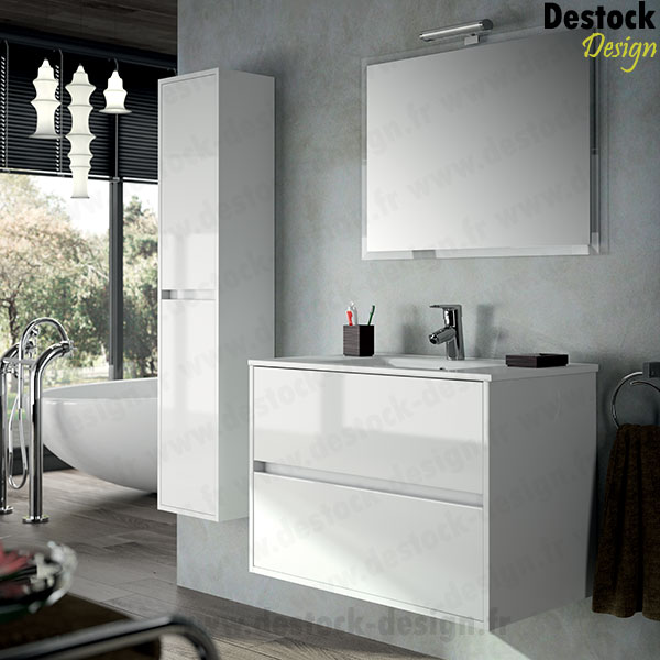 Meuble salle de bain design blanc id es for Meuble salle de bain quebec