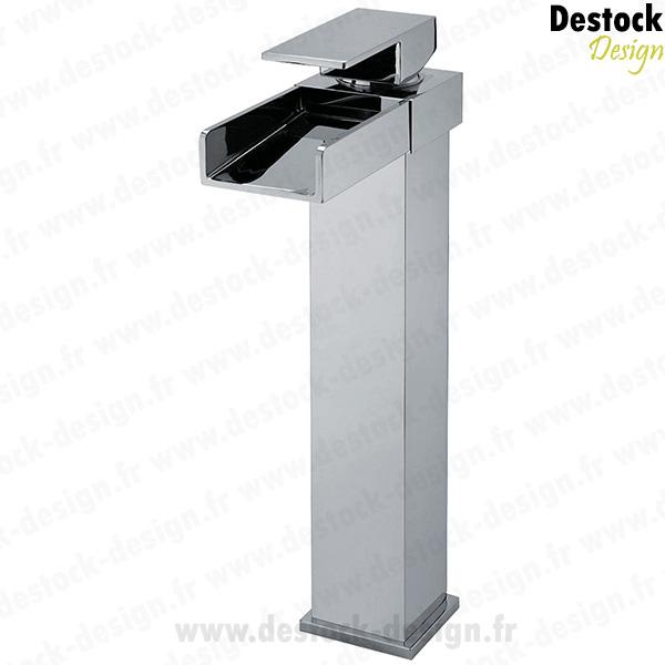 grand robinet cascade pour vasque. Black Bedroom Furniture Sets. Home Design Ideas