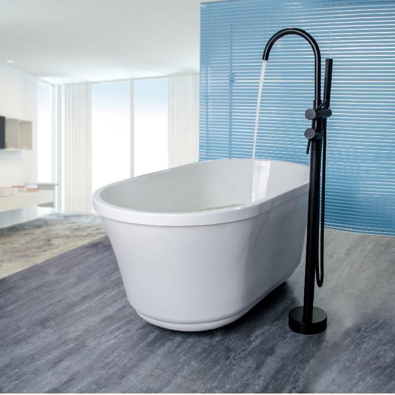 robinetterie baignoire noire. Black Bedroom Furniture Sets. Home Design Ideas