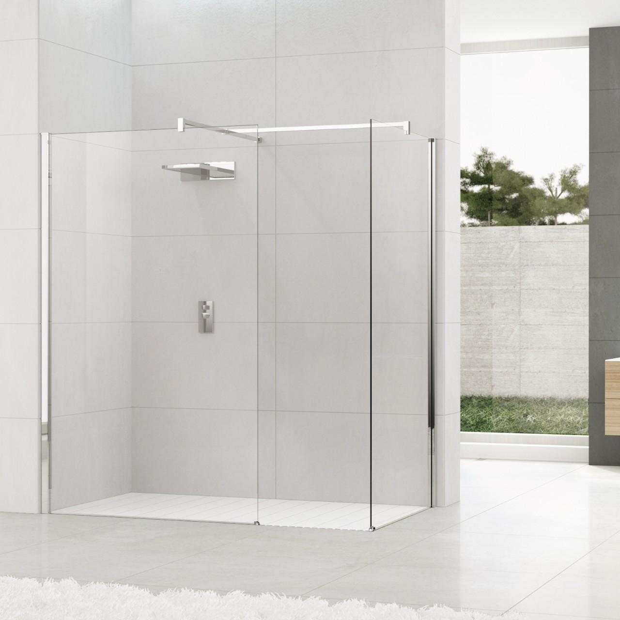 achat d 39 une paroi de douche combi double pour salle de bain. Black Bedroom Furniture Sets. Home Design Ideas