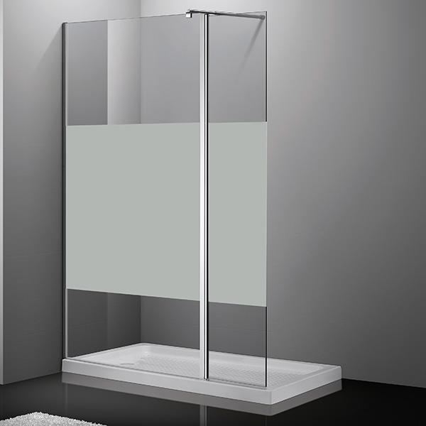 douche italienne taille ideale paroi fixe pour douche avec retour personalisable. Black Bedroom Furniture Sets. Home Design Ideas